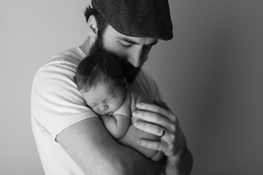 Ottawa Newborn Photographer IMG_1339_BW